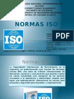 Normas ISO. Control de calidad