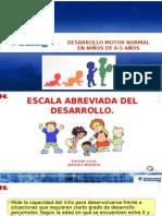 Desarrollo Motor en Niños de 0-5