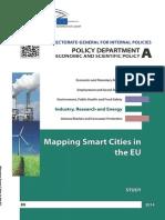 Mapping Smart Cities Eu
