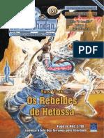 PR651 - Os Rebeldes de Hetossa (Amostra) - Ernst Vlcek - SSPG