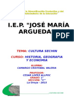 Monografia Cultura Sechin