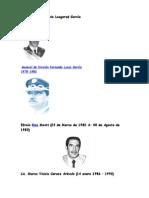 Presidentes de Guatemala de 1980 a 2015