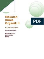 Makalah Kimia Organik II (Karbohidrat)