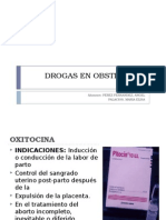 Drogas en Obstetricia