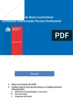 bases curriculares tp
