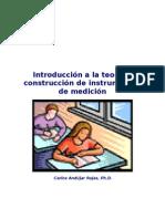 Introduccion a La Construccion de Instrumentos de Medicion