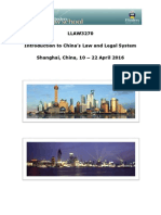 2016 China Law Program Brochure