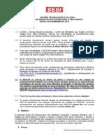 Edital Projetos Locais 2015
