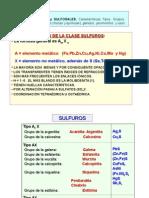 Sulfuros y Sulfosales