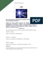 Análisis de transacción en un DFD