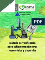 Metodo de Verificacion Para Esfigmomanometros