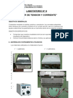 Laboratorio Divisor de Tension y de Corriente
