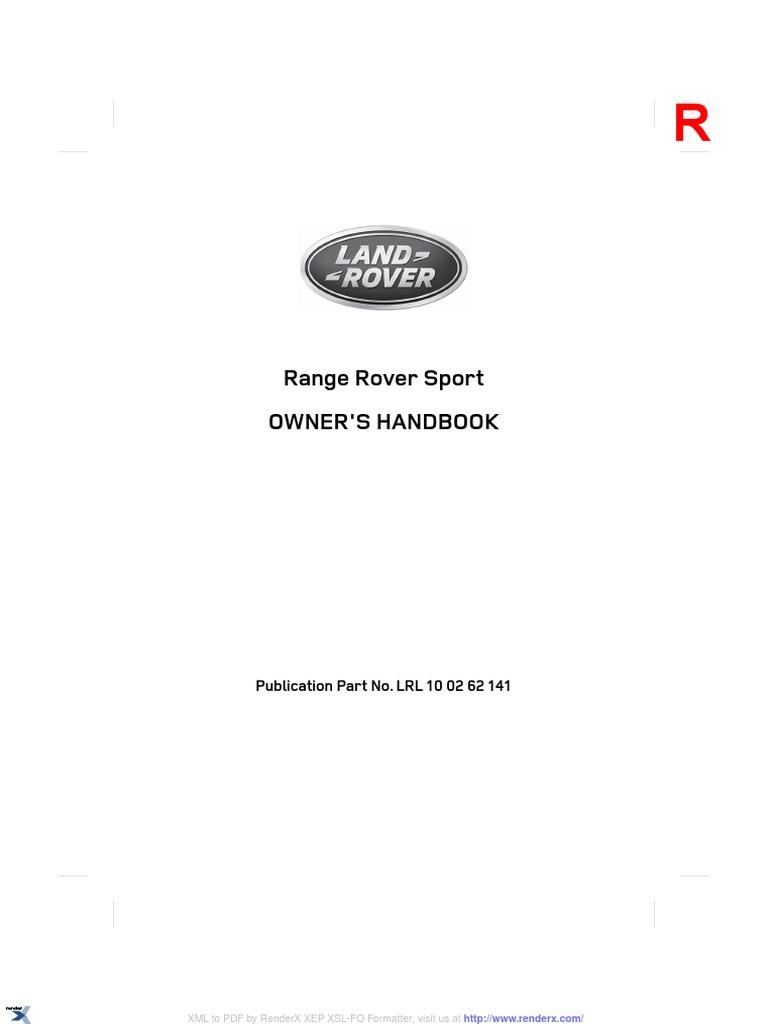 Range Rover Sport En Seat Belt Steering 214 Fuse Box Location