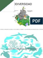 Biodiversidad y Animales protegidos en el D,F