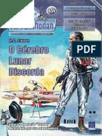 PR654 - O Cerebro Lunar Discorda (Amostra) - H.G. Ewers - SSPG