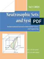 Neutrosophic Sets and Systems, Vol. 9, 2015