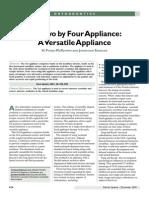 The 2 x 4 Appliance McKeown Sandler
