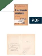A Economia Medieval- Guy Antonetti