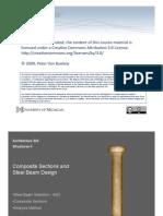ASD (Steel Beam and Composite Slab)