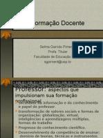 Formação - Selma Garrido Pimenta