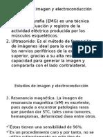 Estudios de imagen y electroconducción