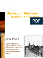 1 History of Philippine Highway