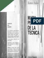 Axelos Kostas - Marx Pensador de La Tecnica