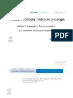 2.1 Intervencion en El Paciente Oncológico.ppt