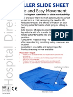Hospital Direct Roller Slide Sheet