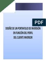 Curso Diseño de Un Portafolio de Inversión