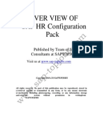 Sap Hr Configuration
