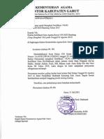 Pemberkasan Sertifikasi - PLPG Rayon UIN SGD Bandung Tahun 2015