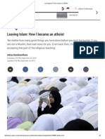 Leaving Islam_ How I Became an Atheist