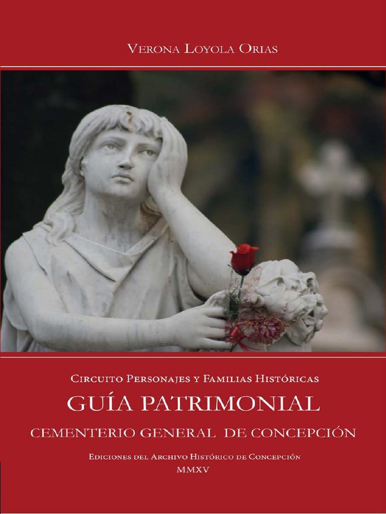 Gu A Patrimonial Cementerio General De Concepci N Circuito  # Muebles Tamara Fox Rancagua