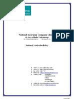 National Mediclaim Policy