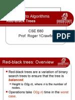 CSE680-11RedBlackTrees