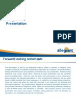 Allegiant Travel Company Management Presentation - September 2013.pdf