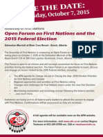 15-09-23 Open Forum on Fed Election Save the Date En