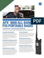 APX 8000 NA Datasheet
