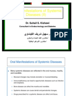 8-Oral Manifestations of Systemic Diseases Part II