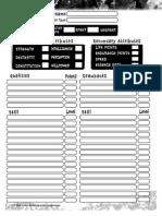 AFMBE Character Sheet