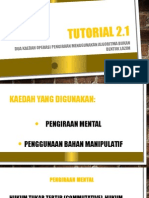 Tutorial 2.1