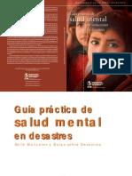 Guía práctica de salud mental en situaciones de desastres