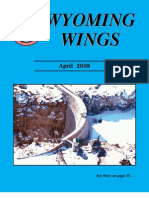 Wyoming Wings Magazine, April 2008
