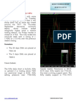Cnx Nifty Weekly Report 28 Sep to 1 Oct