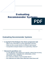 Recommender Systems an Introduction Chapter07 Evaluating Recommender Systems