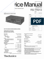 Technics Rs Tr313