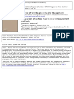 Comparison of Surface Macrotexture Measurement Methods