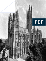 The Cathedral Church of Canterbury 2nd Ed a Descri