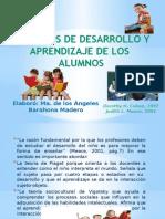 Proceso de desarrollo y aprendizaje de los alumnos